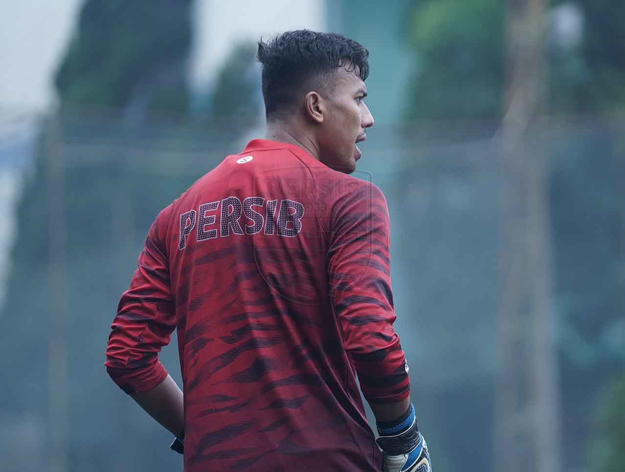 Kiper Persib Bandung, Teja Paku Alam. (Persib)