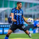 Pemain Inter Milan, Achraf Hakimi. (Inter Milan).