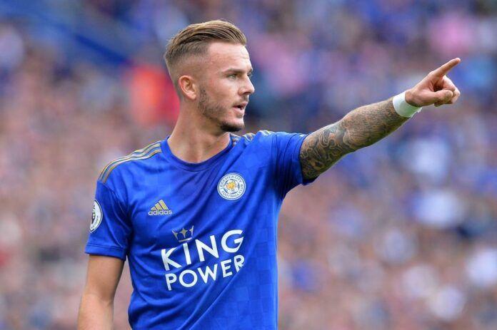 Pemain Leicester, James Maddison. (Premier League)