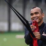 Pemain Persija Jakarta, Riko Simanjuntak. (Persija)