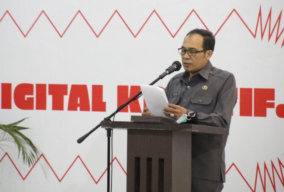 Pelaksana Tugas (Plt) Wali Kota Cimahi, Ngatiyana.