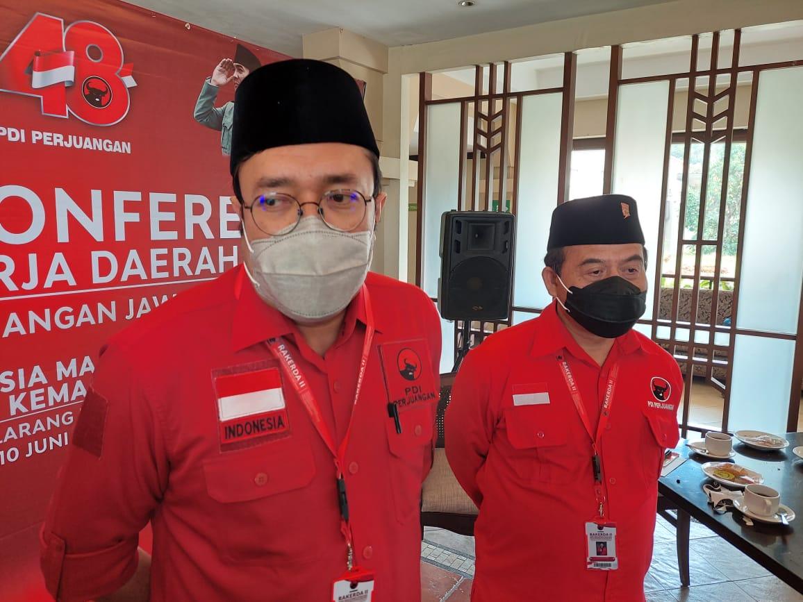 Ketua DPD PDI Perjuangan Jawa Barat, Ono Surono.