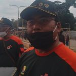 Kepala Pelaksana BPBD Kabupaten Bandung Akhmad Djohara di Kecamatan Cikancung, Selasa (15/6). (Yanuar Baswata/Jabar Ekspres)