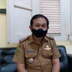 Camat Cicalengka, Entang Kurnia saat ditemui di kantornya, Senin (21/6). Yanuar Baswata/Jabar Ekspres.