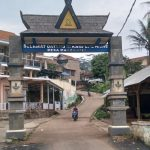 Situasi wilayah Desa Margaasih, Kecamatan Cicalengka, Kabupaten Bandung pada Kamis (24/6). (Yanuar Baswata/Jabar Ekspres)