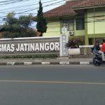 Puskesmas Jatinangor di Desa Hegarmanah, Kecamatan Jatinangor, Kabupaten Sumedang pada Selasa (29/6). (Yanuar Baswata.Jabar Ekspres)