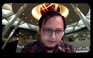 Kepala BEI Jawa Barat, Reza Syahmeini - bahas investor