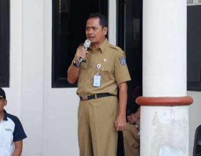 Kepala Dinsos Kota Depok, Usman Haliyana karang taruna depok