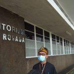 Sekretaris Dinas Tata Ruang (Distaru) Kota Bandung, Achmad Tadjudin di Balai Kota Bandung. (Nurrani Rusmana/Jabar Ekspres) tpu cikadut covid-19