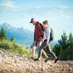 Perjalanan di alam bebas Hiking