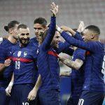 Pemain Prancis ketika merayakan sebuah gol. Foto (Football Italia).