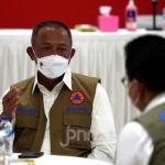 Kepala Badan Nasional Penanggulangan Bencana (BNPB) Letjen TNI Ganip Warsito. Foto: Ricardo/JPNN.com.