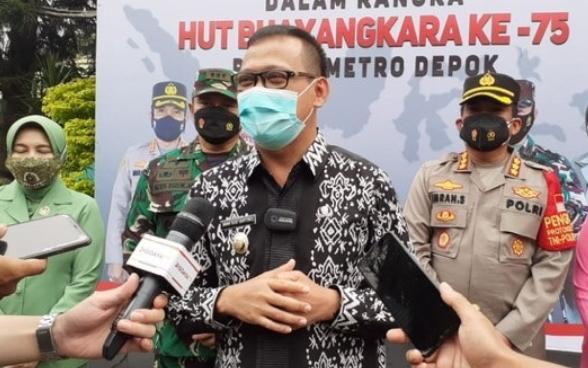 Wakil Wali Kota Depok, Imam Budi Hartono imbau masyarakat perangi covid-19