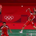 Hendra Ahsan olimpiade Tokyo