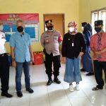 Bupati Indramayu Nina Asgustina ketika melaksanakan monitoring PPKM Darurat di desa-desa.