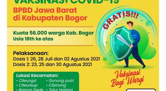 Cara Pendaftaran Vaksin di Kabupaten Bogor