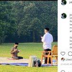 Postingan Presiden Jokowi tenntang pelaksanaan salat Idul Adha