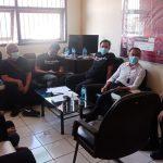 Kalapas Narkotika Kelas II A Jelekong Bandung berkoordinasi dengan jajaran serse Narkotika Polres Bandung untuk memproses kedua pelaku.