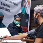Kantor DPW Nasdem Jabar menggelar Vaksinisasi untuk warga Kota Bandung