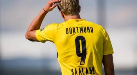 Pemain Borussia Dortmun, Erling Haaland. (BVB)