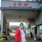 Ketua DPD PSI Kota Depok, Oparis Simanjuntak.