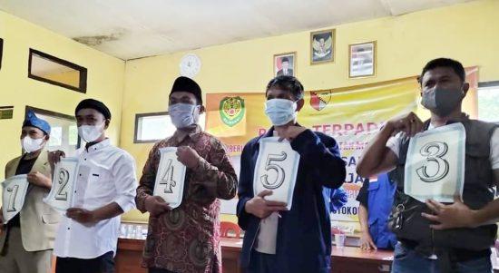 Calon Kepala Desa Arjasari Kabupaten Bandung.