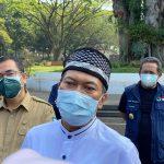 Wali Kota Bandung, Oded M Danial, di Pendopo Kota Bandung, Senin (19/7).