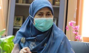 Kepala Dinas Kesehatan (Dinkes) Kota Depok, Novarita.
