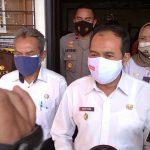 Plt. Wali Kota Cimahi, Ngatiyana beserta jajarannya, Rabu (21/7).
