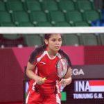 Tunggal putri Indonesia, Gregoria Mariska. (NOC)