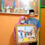 Asep Hidayat dan Siti Aisah, kedua orang tua Windi Cantika Aisah.