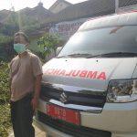 Sopir ambulan Puskesmas di Kota Cimahi, Asep Muhamad Rahman Soleh.