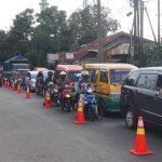 ILUSTRASI: Kemacetan bakal terjadi di sepanjang jalan Gatot Subroto, Cimahi.