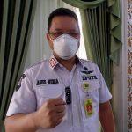 Kepala Dinas PUTR, Agus Nuria usai diwawancara, Rabu (28/7). (Yully S Yulianty/Jabar Ekspres)