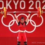 Lifter senior andalan Indonesia, Eko Yuli Irawan kembali sukses mempersembahkan medali perak di Olimpiade Tokyo 2020. Eko berhasil menyelesaikan total angkatan 302 kg di Tokyo International Forum Hall, Jepang, Minggu (26/07).(foto:nocindonesia)