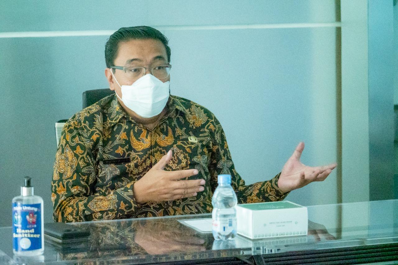 Kepala Badan Pendapatan Daerah Provinsi Jabar Hening Widyatmoko.