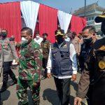 Wakil Gubernur Jabar, Kapolda Jabar, Pangdam Siliwangi, Kepala Kejati Jabar. Foto : Boy Darmawan / Jabar Ekspres.