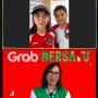 Neneng Goenadi berbincang secara virtual dengan Greysia Polii dan Apriyani Rahayu pada Selasa (3 Agustus 2021)