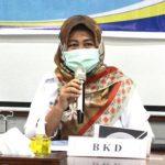 Kepala BKD Kota Depok, Nina Suzana.