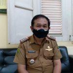 Camat Cicalengka, Entang Kurnia saat ditemui di kantornya, beberapa waktu lalu. (Yanuar Baswata/Jabar Ekspres)