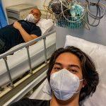 El Jalaludin Rumi sedang terbaring di rumah sakit. (Foto: Instagram @elelrumi)