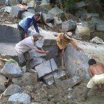 Aktiviatas Tambang Batu andesit (ffoto Istimewa)