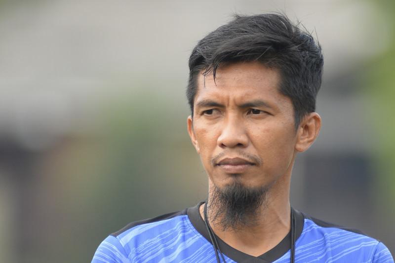 Pelatih caretaker Borneo FC Ahmad Amiruddin (HO/Borneofc.id)