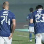 Dua pemain Persib, Mohammed Bassim Rashid dan Marc Klok (HO/Persib.co.id)