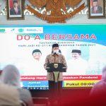 Wali Kota Bandung, Oded M Danial dalam acara Doa Bersama, di Aula Pendopo, Jumat (24/9)