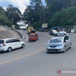 Jalur Puncak-Cianjur, Jawa Barat, ramai lancar setelah hari kedua penerapan Ganjil Genap