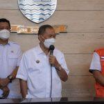 Pemerintah Kota (Pemkot) Bandung, adakan preskon usai melakukan Rapat Terbatas (Ratas) evaluasi PPKM di Kota Bandung. Rabu (8/9).