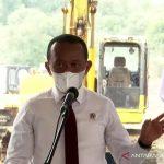 Tangkapan layar Menteri Investasi/Kepala BKPM Bahlil Lahadalia dalam Groundbreaking Ceremony Hyundai Motor Group dan LG Energy Solution di Karawang, Jawa Barat, Rabu (15/9/2021). ANTARA/Youtube Sekretariat Presiden/pri.