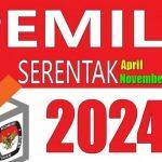 ILUSTRASI Pemilu Serentak 2024. (Antara) anggaran