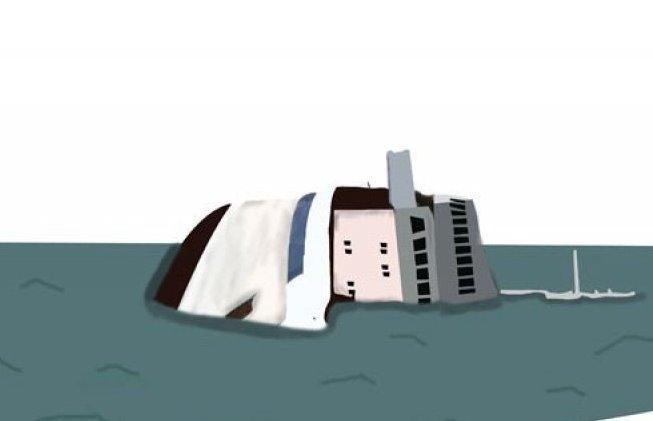 kapal kemenkumham tenggelam